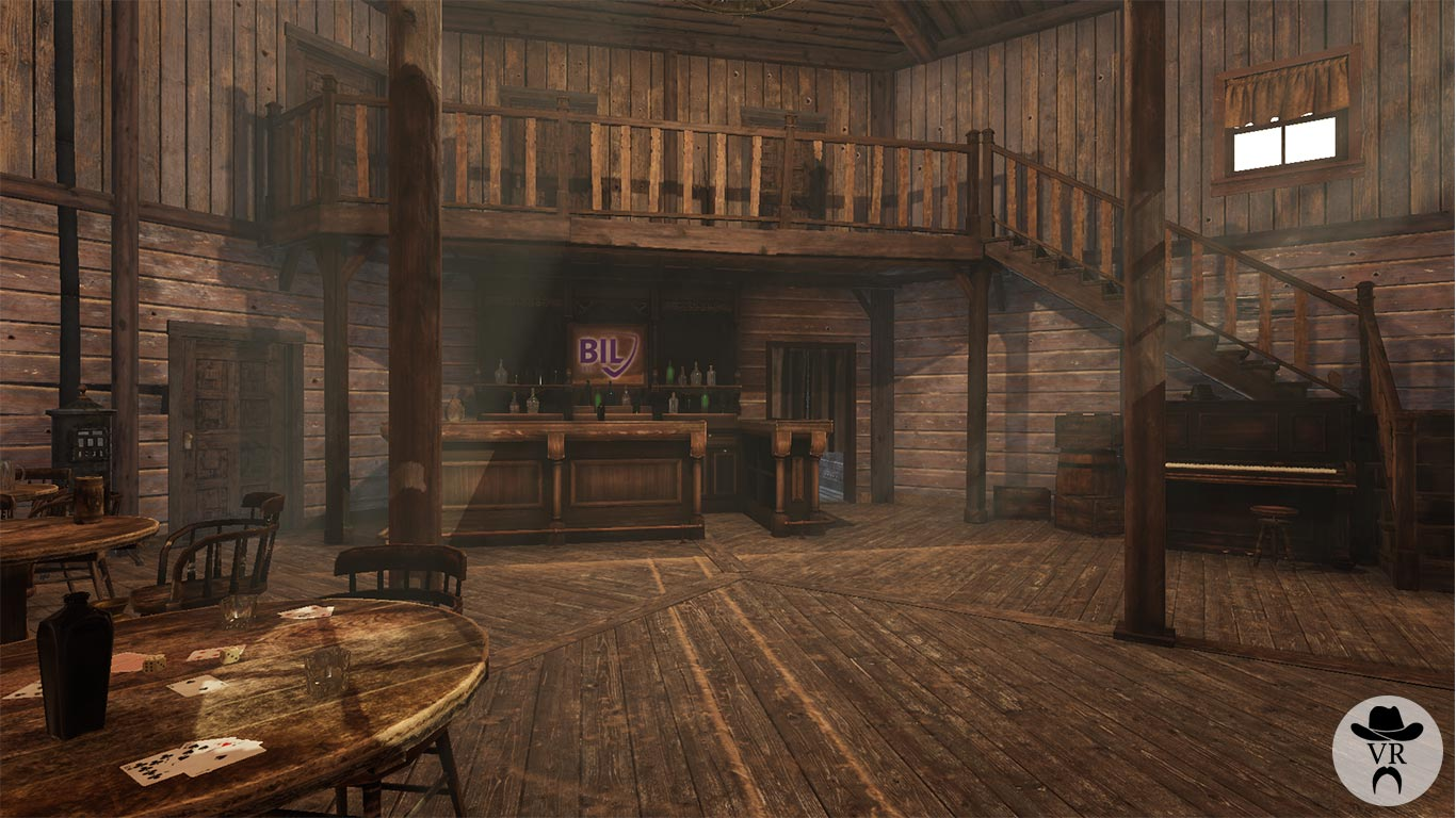 VR Game saloon