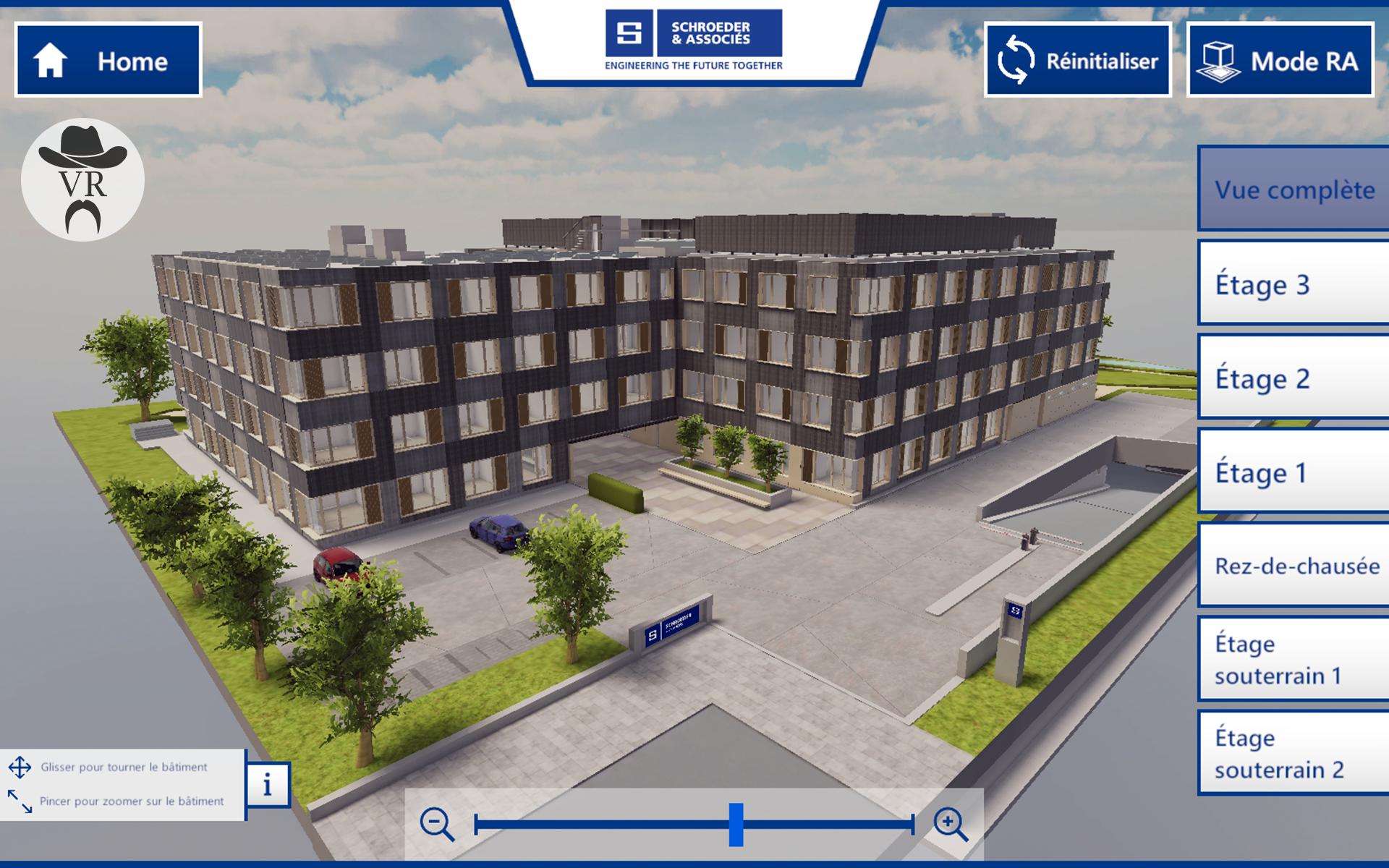 Schroeder & Associés AR Virtual Rangers in App