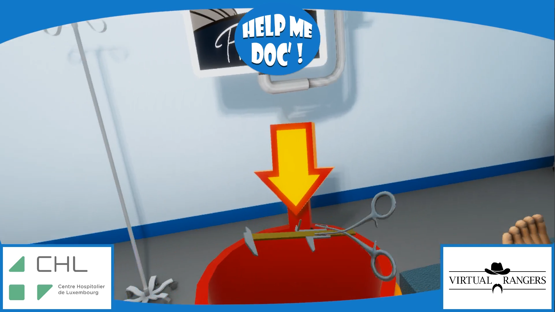 Help Me Doc VR Medial Game Virtual Rangers
