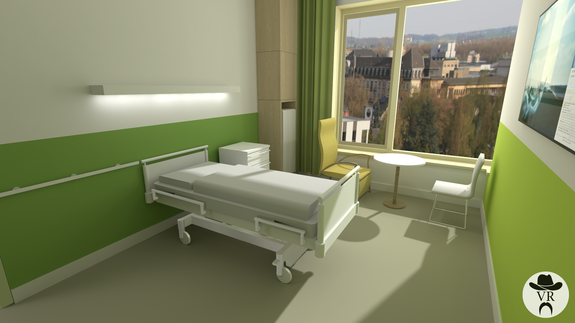 CHEM Virtual Reality Hospital Room