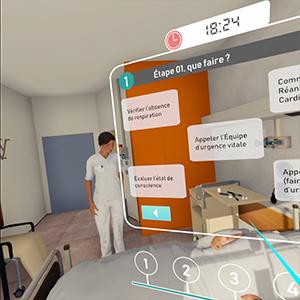 CHL Virtual Reality Training