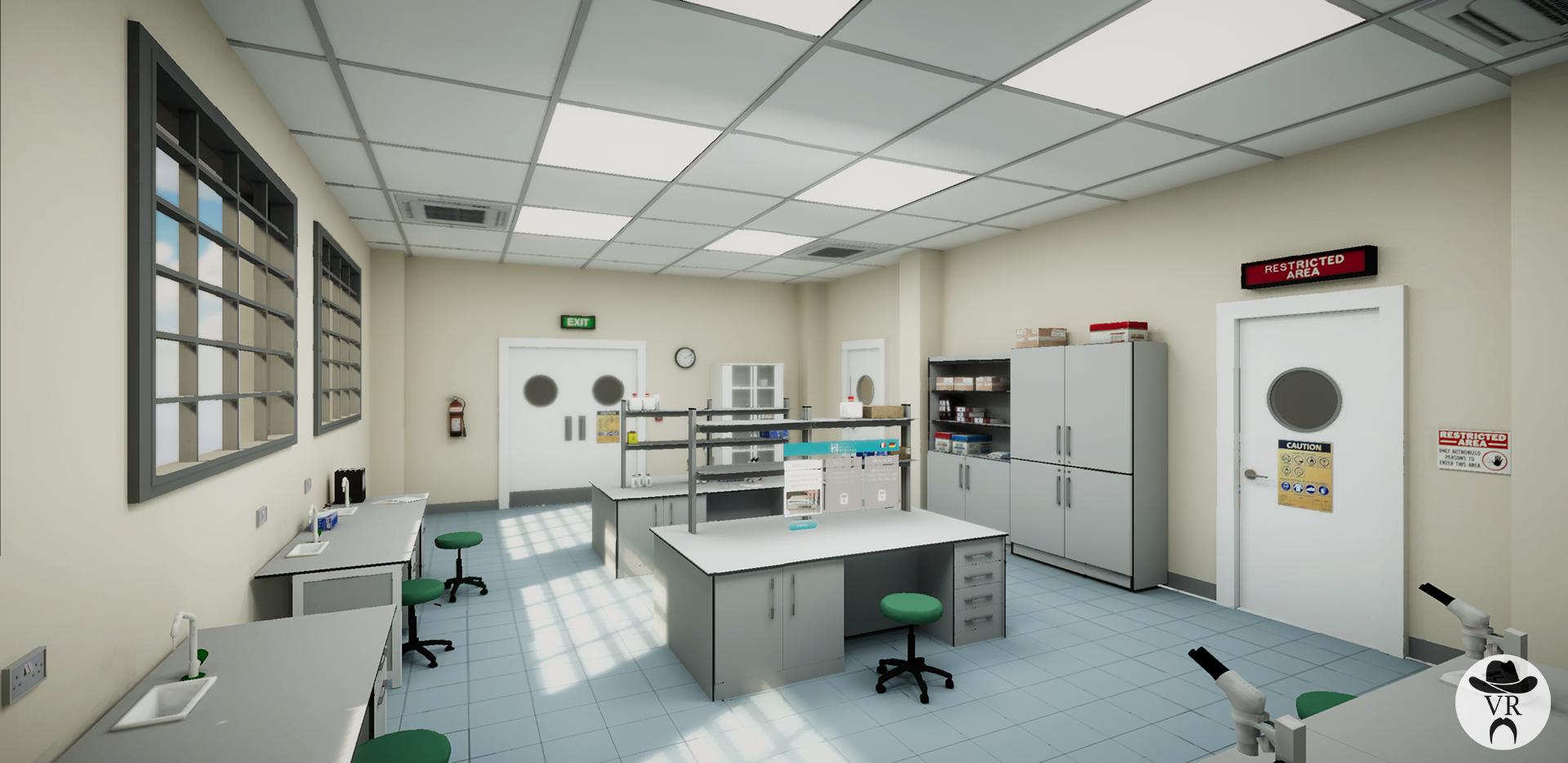 Hôpitaux Robert Schuman formation réalité virtuelle Virtual Rangers
