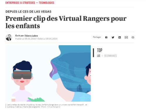 Article Paperjam – Premier clip des Virtual Rangers pour les enfants