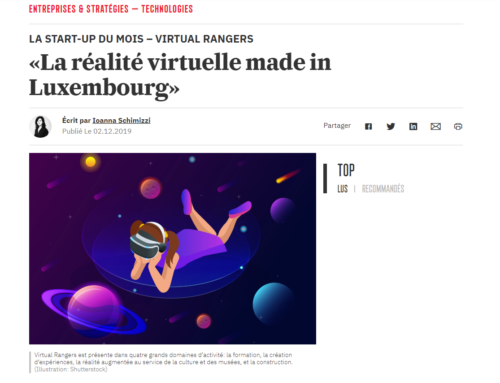 Article paperjam – La réalité virtuelle made in Luxembourg