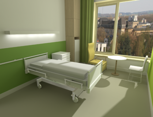 CHEM VR Hospital Room