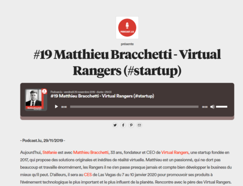 Podcast – Matthieu Bracchetti – Virtual Rangers