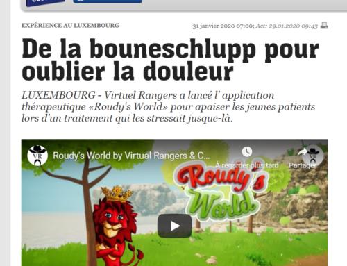 """Article L'essentiel """"De la Bouneschlupp pour oublier la douleur"""""""
