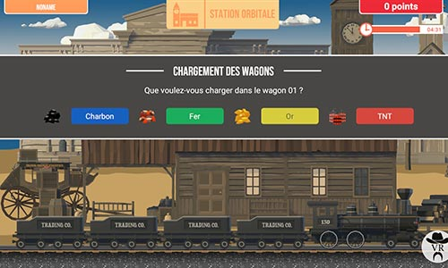 Game of Train Virtual Rangers
