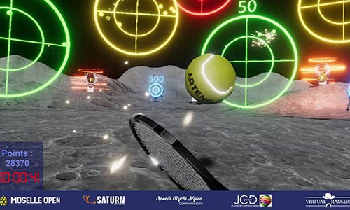 Tennis VR Virtual Rangers