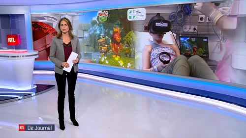 Reportage RTL Virtual Rangers