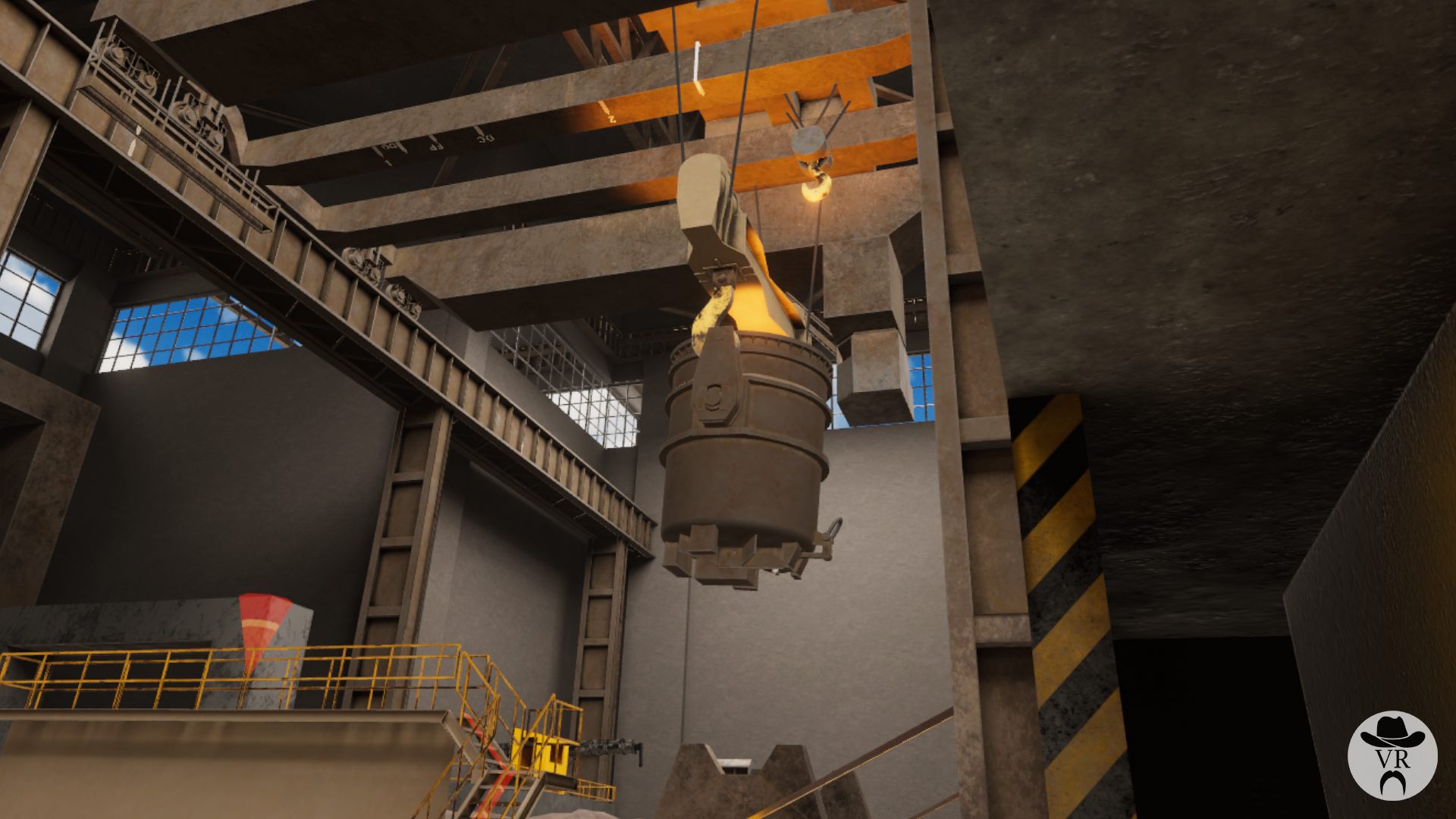 ArcelorMittal VR lifting training