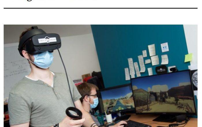 Article Tageblatt Virtual Rangers