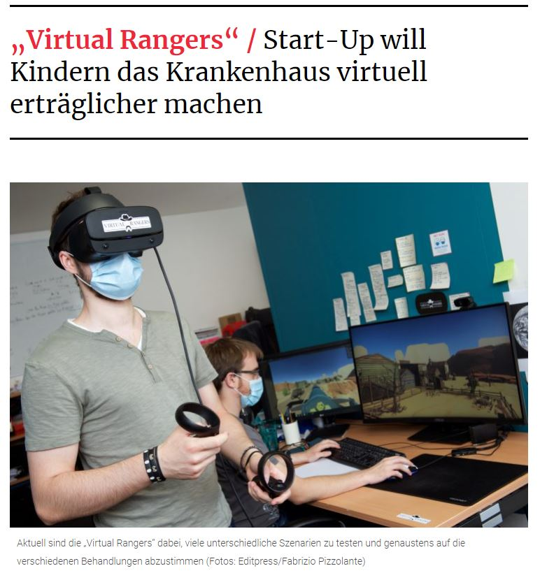 Article Tageblatt Virtual Rangers