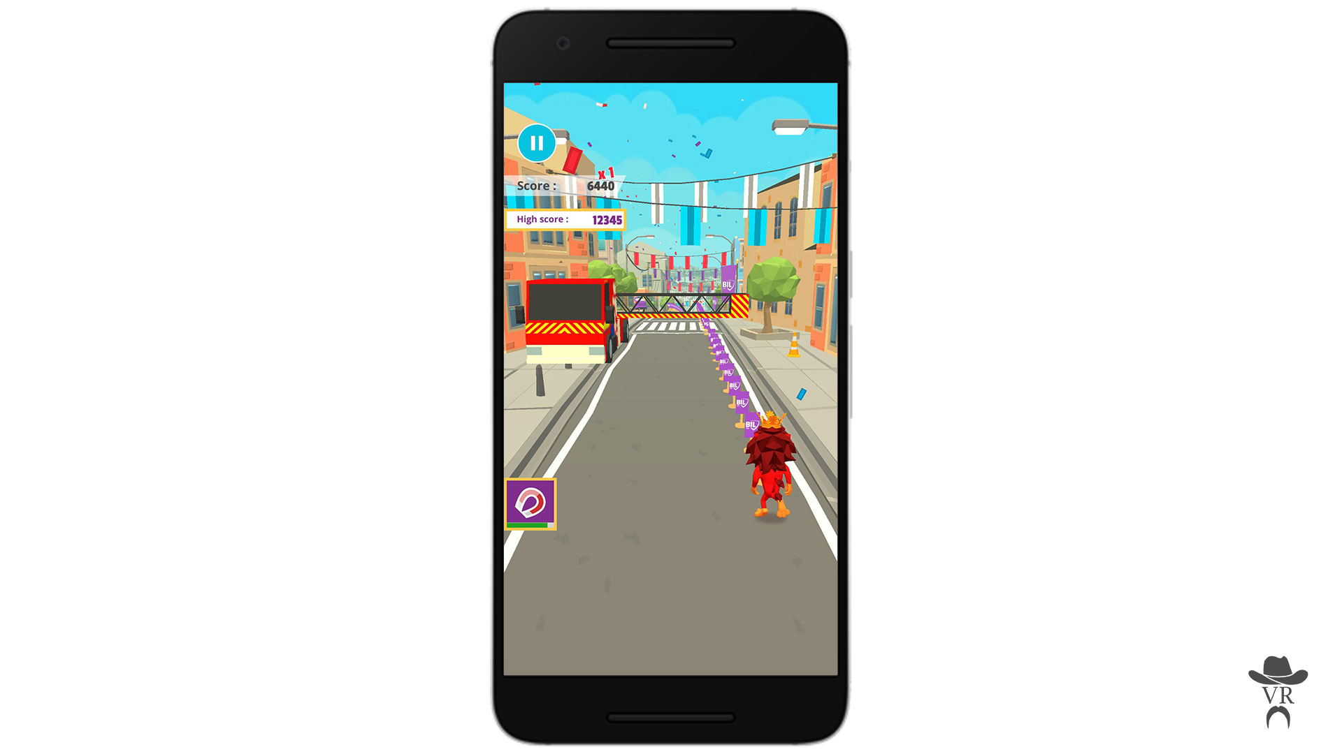 BIL Runner mobile game